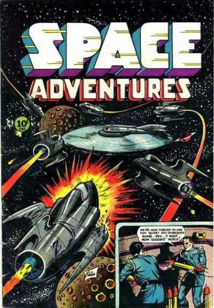 Space Adventures 4 - Space Ship - Planet - Blast - Star - Man - Dick Giordano, Jim Aparo