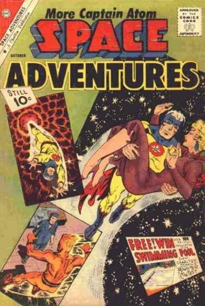 Space Adventures 42 - Approved By The Comics Code - More Captain Atom - Space - Woman - Still 10c
