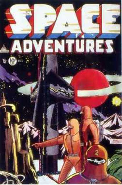 Space Adventures 5 - Space Adventures - Rocket Ship - Planet - Astronaut - Stars - Sanho Kim