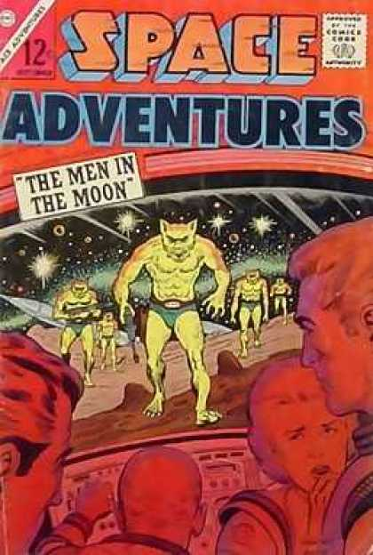 Space Adventures 53 - Space Adventures - The Men In The Moon - Spaceship Window - Family - Aliens