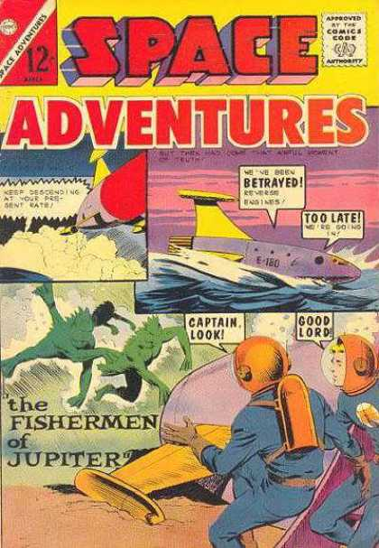 Space Adventures 56 - The Fisherman Of Jupiter - Weve Been Betrayed - Too Late - Captain Look - Good Lord