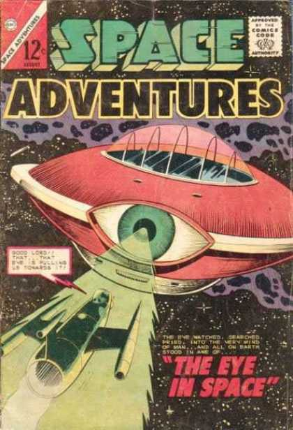 Space Adventures 58 - Earth - Eye - Space - Watched - Searched