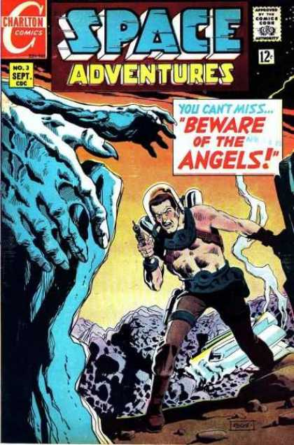Space Adventures 62 - Charlton - Charlton Comics - Space - Monster - Angels