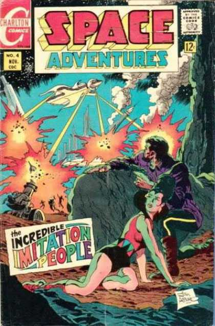 Space Adventures 63 - Charlton - Charlton Comics - Adventure In Space - Space - Imitation People