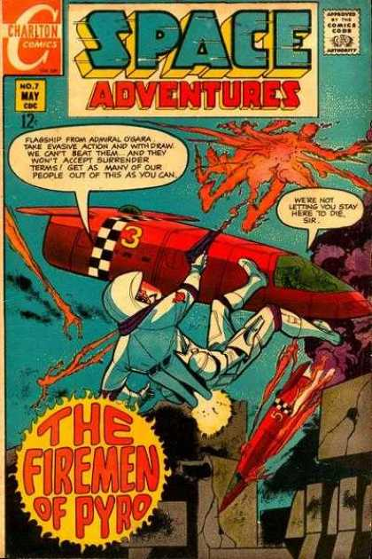 Space Adventures 66 - Heroes In The Heavens - My Place Is In Space - Hot As Hell - Burning Up - Fire At Fire