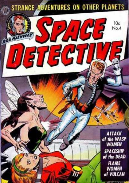 Space Detective 4 - Strange Adventures On Other Planets - Space Suit - Gun - Blaster - Alien