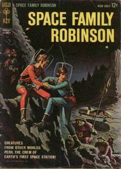 Space Family Robinson 1 - Space Station - Volume 12 - Peril - Other Worlds - Creatures