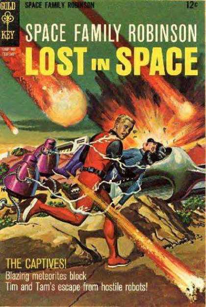 Space Family Robinson 26 - Lost In Space - Meteor Shower - Captives - Robots - Escape