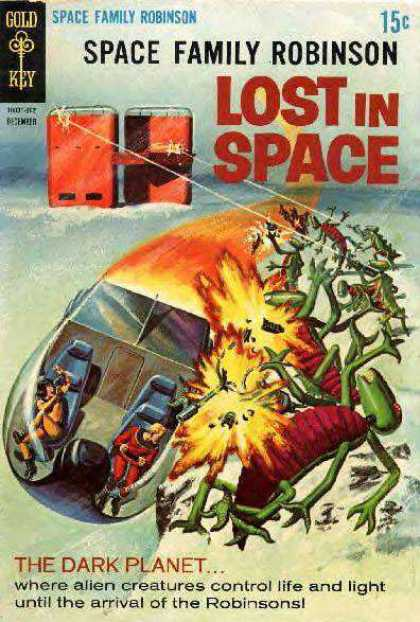 Space Family Robinson 31 - Lost In Space - Spaceship - Crash - Alien - The Dark Planet