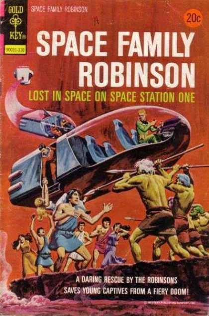 Space Family Robinson 37 - Space - Station - One - Robinson - Ship