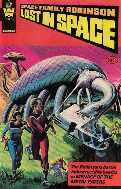 Space Family Robinson 55 - Lost In Space - Robinson - Metal Eaters - Menace - Battle