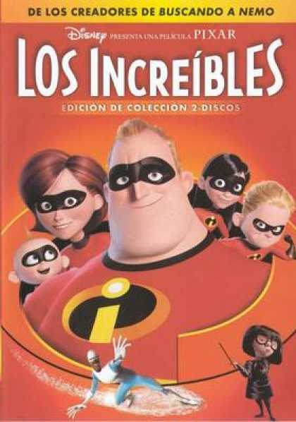 Spanish DVDs - The Incredibles
