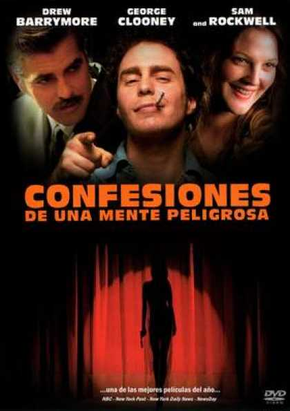 Spanish DVDs - Confessions Of A Dangerous Mind
