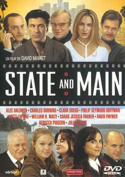 Spanish DVDs - State And Main