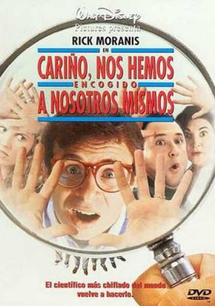 Spanish DVDs - Honey We Shrunk Ourselves