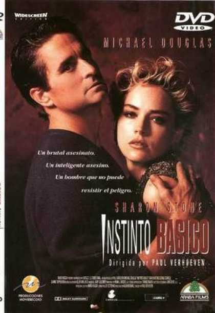 Spanish DVDs - Basic Instinct