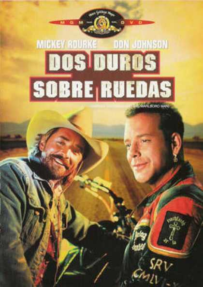 Spanish DVDs - Harley Davidson And The Marlboro Man