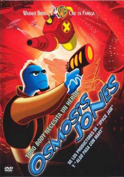 Spanish DVDs - Osmosis Jones