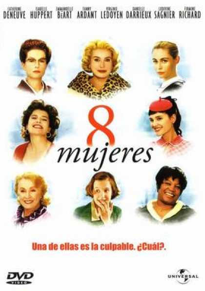 Spanish DVDs - 8 Women