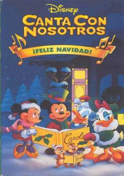 Spanish DVDs - Singing With Ours Happy Christmas
