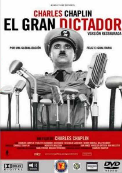 Spanish DVDs - The Great Dictator