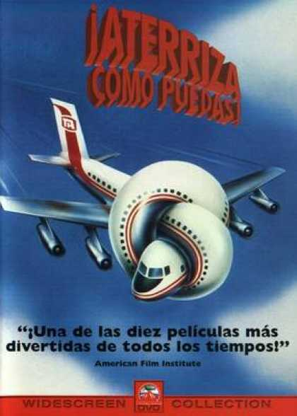 Spanish DVDs - Airplane!
