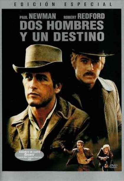 Spanish DVDs - Butch Cassidy And The Sundance Kid