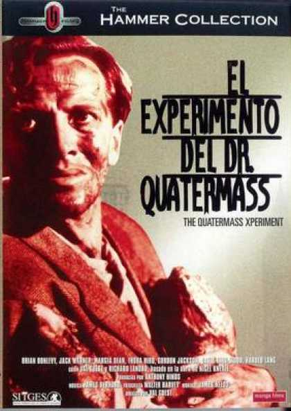 Spanish DVDs - The Quatermass Xperiment