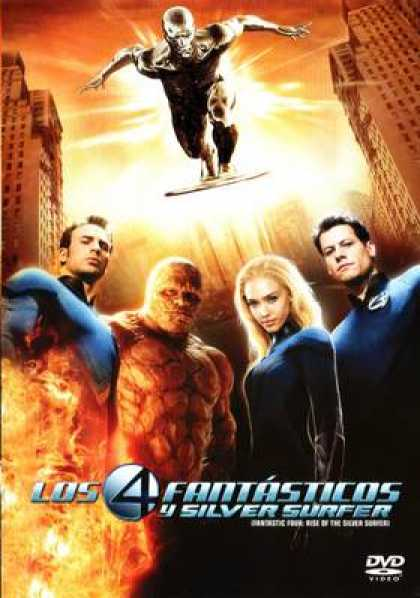 Spanish DVDs - Fantastic 4 Rise Of The Silver Surfer SPANISH R4