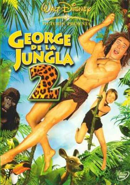 Spanish DVDs - George Of The Jungle 2