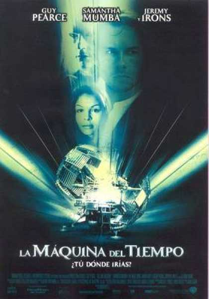Spanish DVDs - The Time Machine