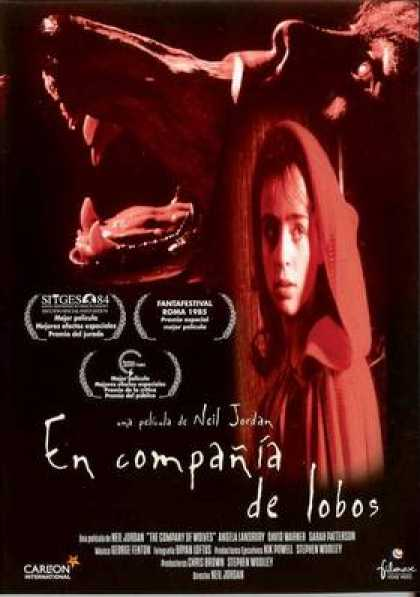 Spanish DVDs - The Company Of Wolves