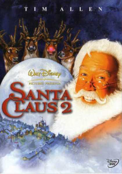 Spanish DVDs - The Santa Clause 2 The Mrs Clause