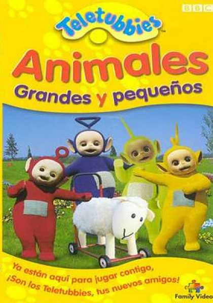 Spanish DVDs - Teletubbies Animals Big And Little
