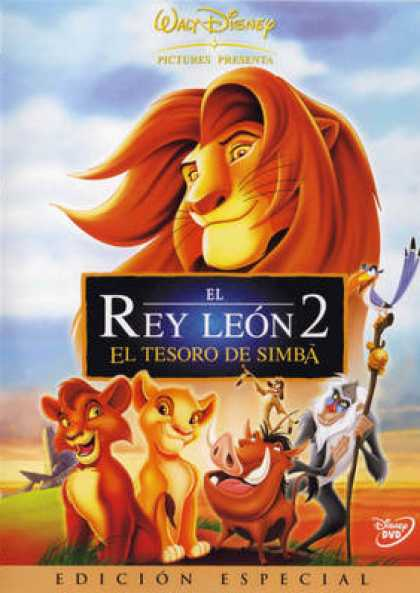 Spanish DVDs - The Lion King 2 Special