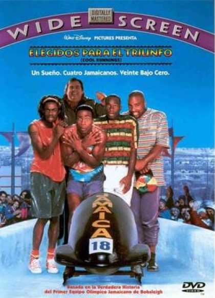 Spanish DVDs - Cool Runnings