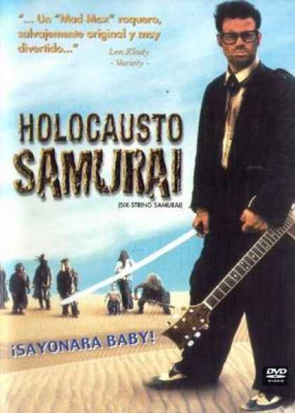 Spanish DVDs - Six String Samurai