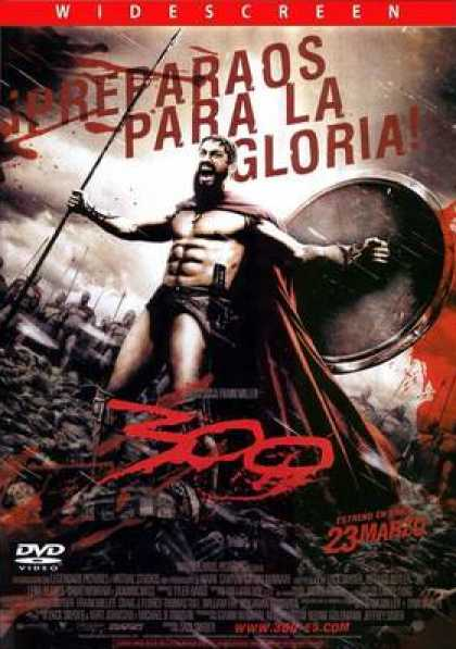 Spanish DVDs - 300