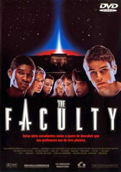 Spanish DVDs - The Faculty