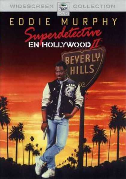 Spanish DVDs - Beverly Hills Cop 2