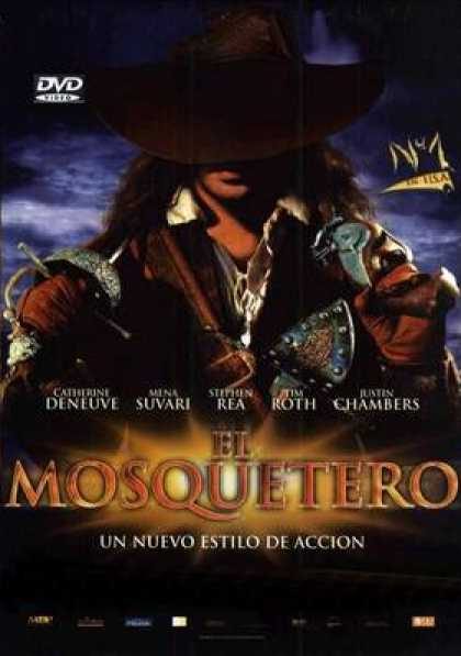 Spanish DVDs - The Three Musketeers