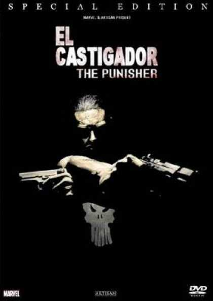 Spanish DVDs - The Punisher