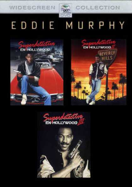 Spanish DVDs - Beverly Hills Cop Trilogy