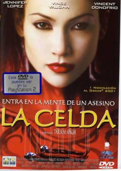 Spanish DVDs - The Cell