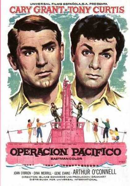 Spanish DVDs - Operation Pacific