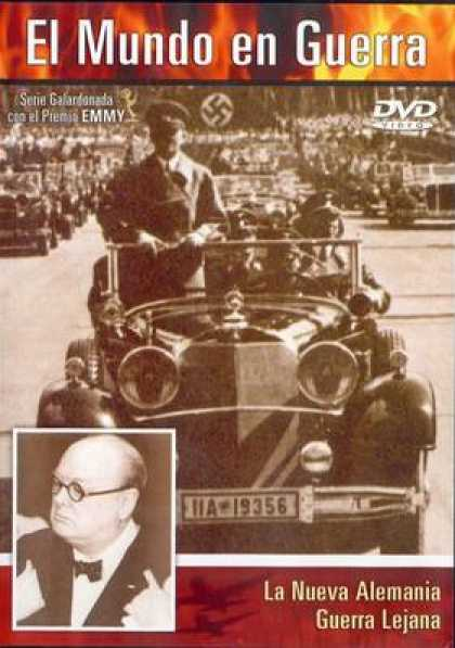 Spanish DVDs - The World At War Vol 1