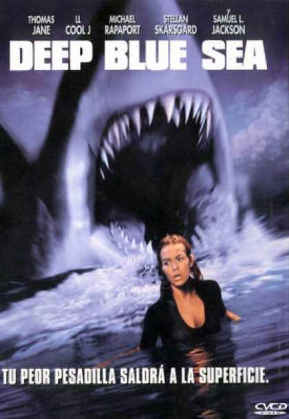 Spanish DVDs - Deep Blue Sea