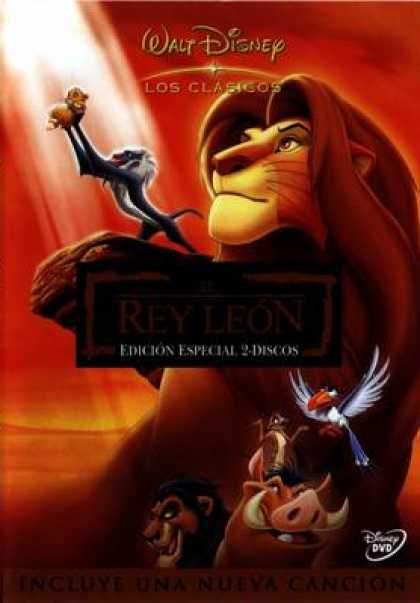 Spanish DVDs - The Lion King Special