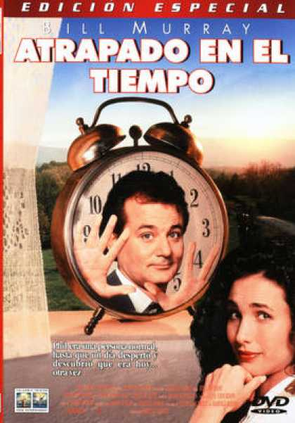 Spanish DVDs - Groundhog Day