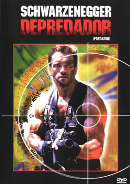 Spanish DVDs - Predator
